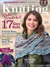 Love of Knitting Winter 2017 cover