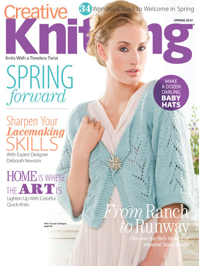 Spring 2013 CreativeKnitting