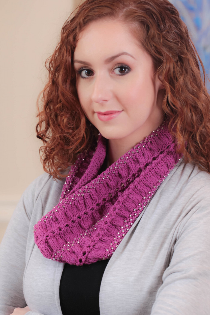 Compass Cowl Knitting Kit