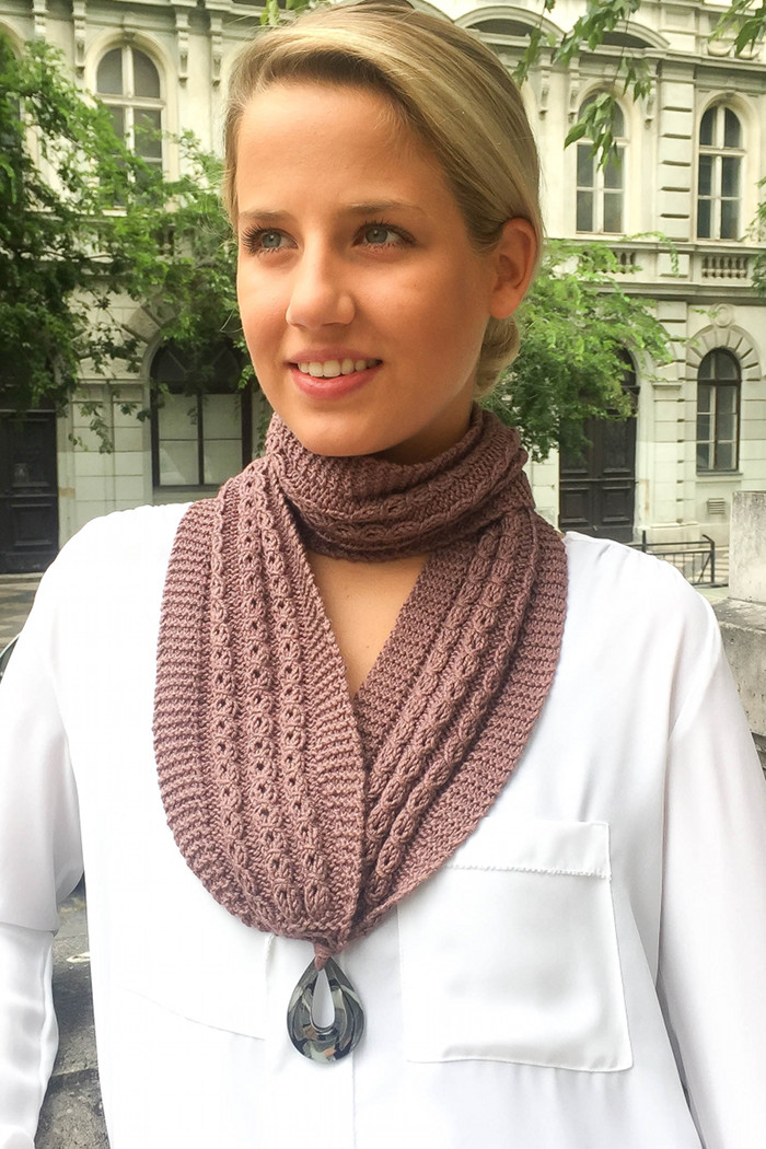 Diana Scarf Knitting Kit