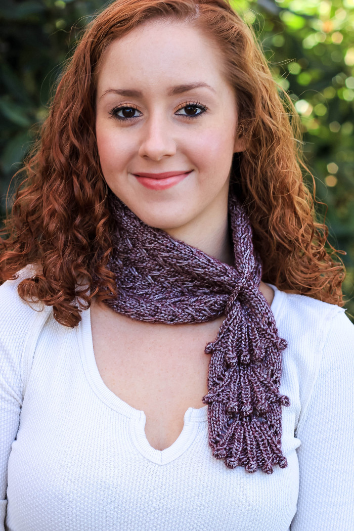 Knitting Patterns For Accessories Nina Cowl Knitting Pattern